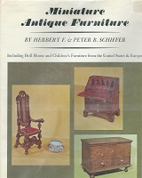 Bk, 157 Miniature Antique Furniture