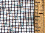 100% Pima Cotton Plaid C 4-13