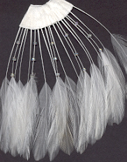 CLR 103 Feather with Beads